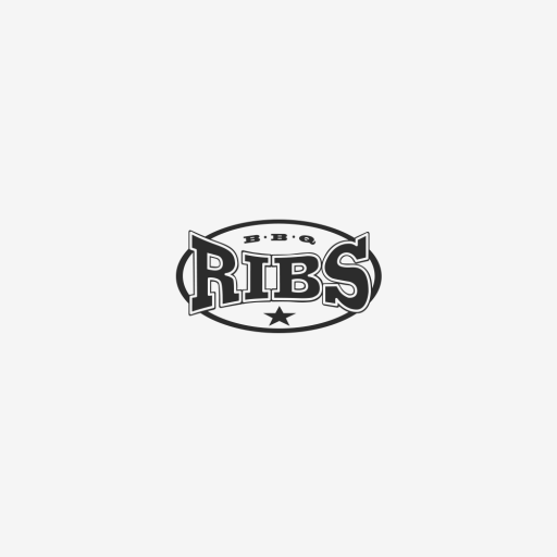 Logotipo de Ribs Negro