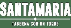 Logo Santamaría Blanco