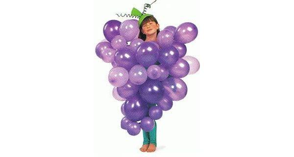 disfraz de uvas